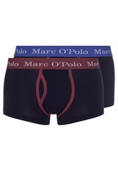 Marc O'polo 2 Pack Shorts Mixed Blue Red Black