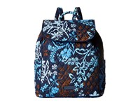 Vera Bradley Drawstring Backpack Java Floral Backpack Bags Black