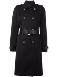 Michael Michael Kors 'Beverly' Trench Coat Black