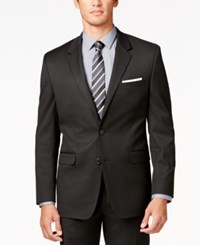 Alfani Men's Traveler Black Solid Classic Fit Jacket Only At Macy's
