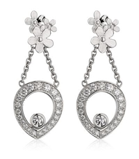 Theo Fennell Forget Me Not Tryst Drop Earrings