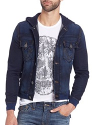 True Religion Dylan Active Denim Jacket Deep Shadow