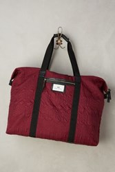 Anthropologie Gweneth Weekend Tote Wine