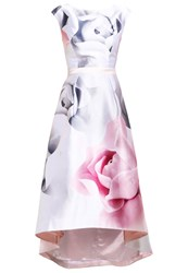 Ted Baker Hagria Occasion Wear Ecru Multicoloured