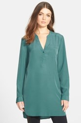 Trouve Trouve Long Sleeve Tunic Green
