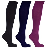 John Lewis Cotton Rich Knee High Socks Pack Of 3