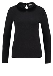 Naf Naf Ovicky Long Sleeved Top Noir Black