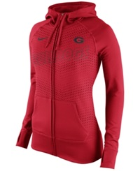 Nike Women's Georgia Bulldogs Performance Full Zip Hoodie Red
