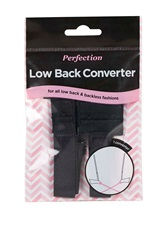 Topshop Low Back Bra Converters Black