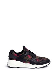 Ash 'Mood' Hotfix Strass Snakeskin Effect Camouflage Sneakers Multi Colour