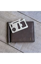 Men's Cathy's Concepts Personalized Leather Wallet And Money Clip