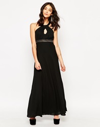 Traffic People Candy Rainbow Let's Dance Maxi Dress Black