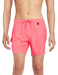 Diesel Fold And Go Swim Shorts Pink