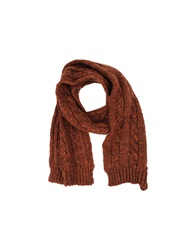 Messagerie Oblong Scarves Rust