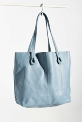 Bdg Knot Strap East West Tote Bag Blue