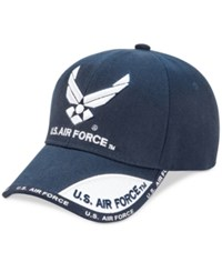 Us Honor Men's Air Force Wing Graphic Hat Navy