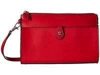 Lodis Audrey Vicky Convertible Crossbody Clutch Red Black Clutch Handbags