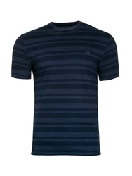 Raging Bull Men's Stripe Tee Denim
