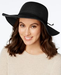 Inc International Concepts Braided Faux Suede Band Floppy Hat Only At Macy's Black