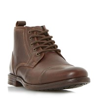 Linea Cashback Toecap Lace Up Boots Brown