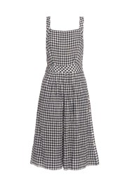 Sea Gingham Pinafore Dress Multi