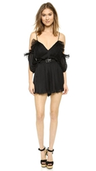 Alice Mccall At First Sight Romper Black