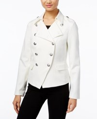 Inc International Concepts Military Jacket Only At Macy's Washed White