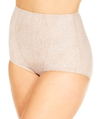 Olga Light Shaping Brief 23344 Toasted Almond Confetti Dot