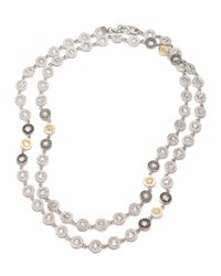 Opera Crystal And Diamond Long Necklace Coomi Red