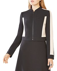 Bcbgmaxazria Color Block Jacket Black Combo
