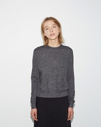 Jil Sander Alpaca Sweater Dark Grey