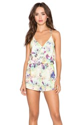 Oh My Love Playsuit Green