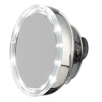 Moeve Stainless Steel Magnified Led Mirror Small