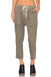 James Perse Relaxed Twill Pant Olive