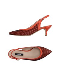Zinda Footwear Courts Women Orange