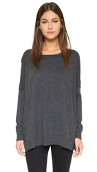 525 America Merino Wool Tunic Dark Grey