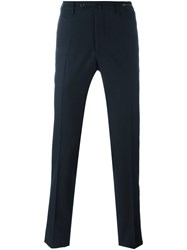 Pt01 Skinny Fit Trousers Blue
