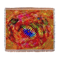 Far Out Design Woven Blanket By Listing Store 124795343