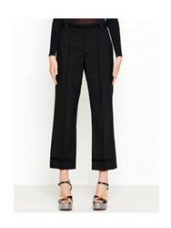 Marc Jacobs Cropped Bowie Pants Black