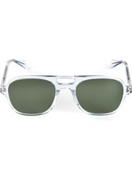 Garrett Leight 'Mark Mcnairy 4' Sunglasses Metallic