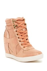 Top Guy Eric Wedge Sneaker Pink