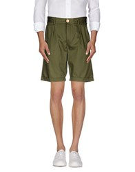 Oliver Spencer Trousers Bermuda Shorts Men Brick Red