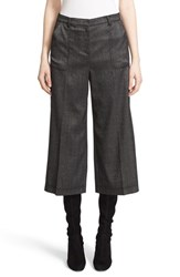St. John Women's Collection Shimmer Melange Stretch Gaucho Pants