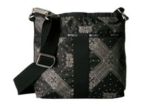 Le Sport Sac Essential Crossbody Star Guides Black Cross Body Handbags