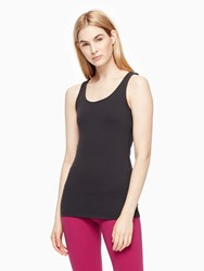 Kate Spade Cinched Bow Tank Black