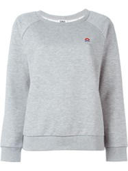 Sonia By Sonia Rykiel Mini Sonia Embroidered Sweatshirt Grey