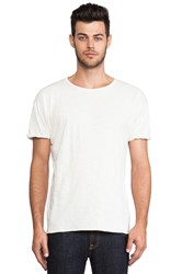 Nudie Jeans Round Neck Tee Cream