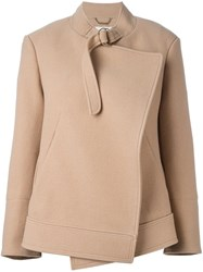 Chloe Double Breasted Jacket Nude And Neutrals