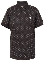 Pretty Green Polka Dot Polo Black