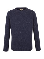 Gibson Crew Neck Donegal Fleck Navy